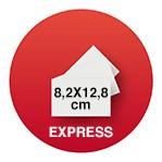Carte De Visite 82x 128 EXPRESS